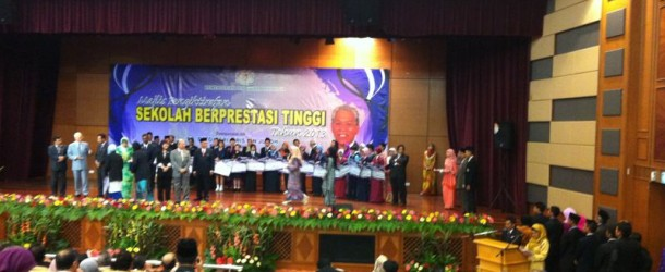 "SKTM is now ""Sekolah Berprestasi Tinggi"" (High-Performance School)"