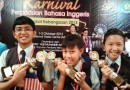 National Champions at Karnival Perpaduan Bahasa Inggeris